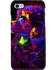 Poodle Colorful Art Phone Case thumbnail