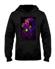 Poodle Colorful Art Hooded Sweatshirt thumbnail