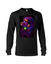 Poodle Colorful Art Long Sleeve Tee thumbnail