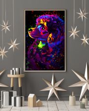 Poodle Colorful Art 16x24 Poster lifestyle-holiday-poster-1