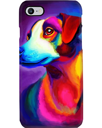 Jack Russell Water Color Phone Case