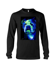 Bulldog Water Color Long Sleeve Tee thumbnail