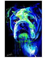 Bulldog Water Color 16x24 Poster front