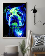 Bulldog Water Color 16x24 Poster lifestyle-poster-1