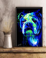 Bulldog Water Color 16x24 Poster lifestyle-poster-3