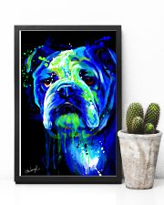 Bulldog Water Color 16x24 Poster lifestyle-poster-8