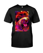 SCHNAUZER HAPPY FACE POSTER Classic T-Shirt thumbnail
