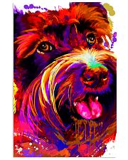 SCHNAUZER HAPPY FACE POSTER 24x36 Poster front