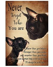 Nerver Forget Who You Are  16x24 Poster front