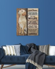 Labrador Partner 16x20 Gallery Wrapped Canvas Prints aos-canvas-pgw-16x20-lifestyle-front-06