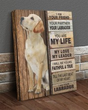 Labrador Partner 16x20 Gallery Wrapped Canvas Prints aos-canvas-pgw-16x20-lifestyle-front-10