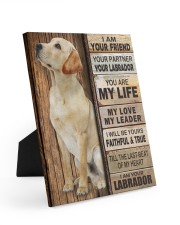 Labrador Partner 8x10 Easel-Back Gallery Wrapped Canvas thumbnail