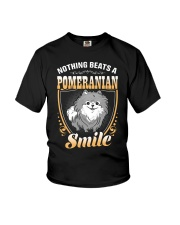 NOTHING BEATS A POMERANIAN SMILE Youth T-Shirt thumbnail