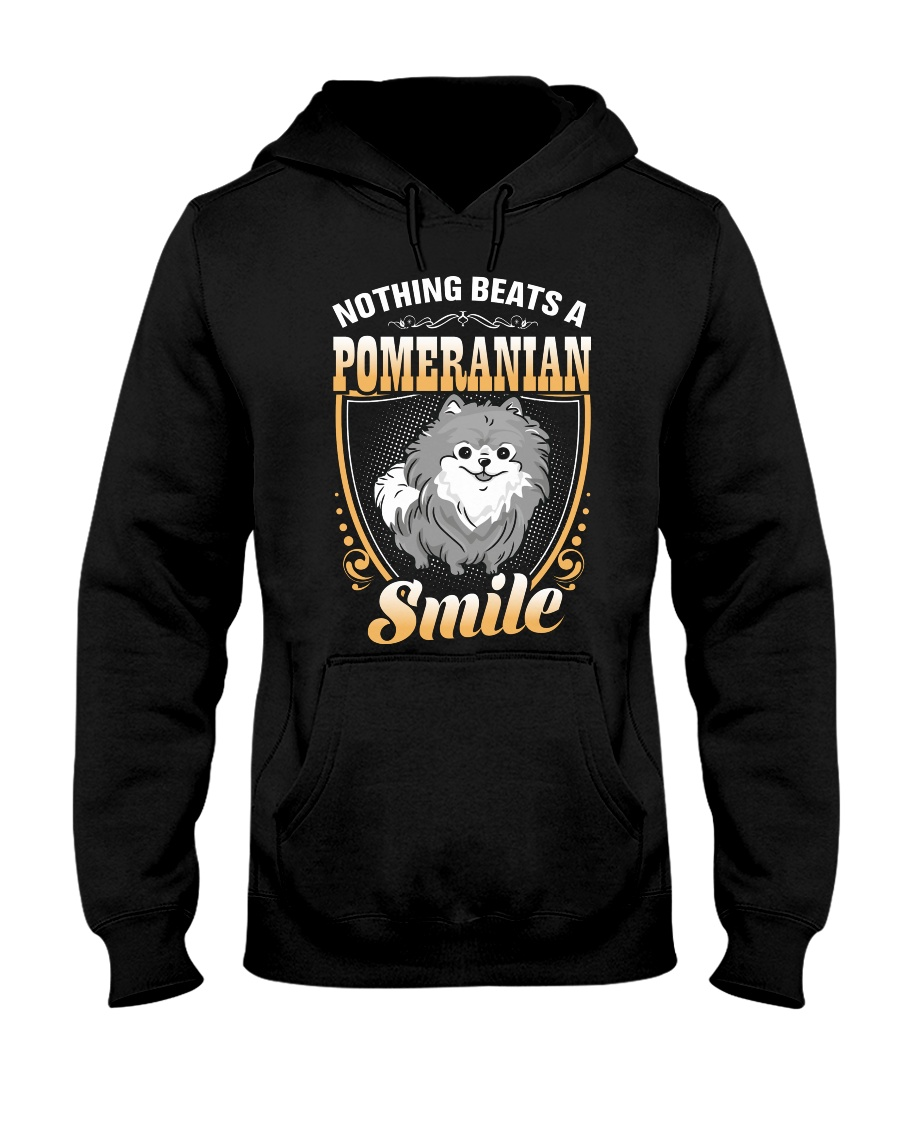 NOTHING BEATS A POMERANIAN SMILE Hooded Sweatshirt
