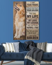 Golden Retriever Partner 20x30 Gallery Wrapped Canvas Prints aos-canvas-pgw-20x30-lifestyle-front-06