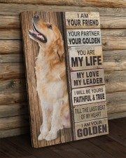 Golden Retriever Partner 20x30 Gallery Wrapped Canvas Prints aos-canvas-pgw-20x30-lifestyle-front-19