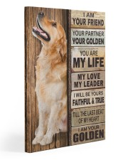 Golden Retriever Partner 11x14 Gallery Wrapped Canvas Prints thumbnail