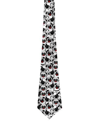 Pug tie-pattern