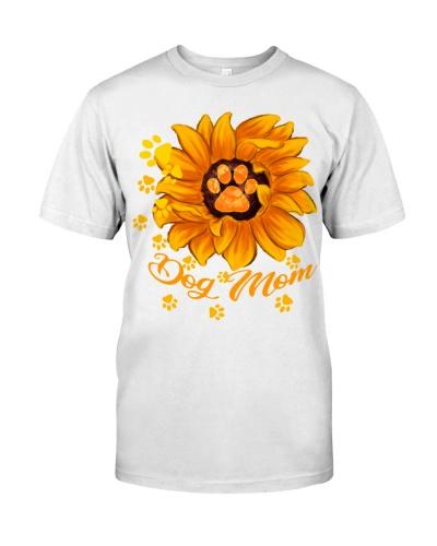 Paws Dog Mom Sunflower