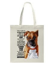 Boxer dog color Tote Bag thumbnail