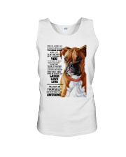 Boxer dog color Unisex Tank thumbnail