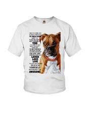 Boxer dog color Youth T-Shirt thumbnail