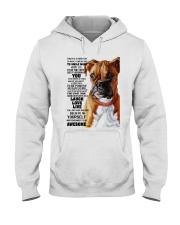 Boxer dog color Hooded Sweatshirt thumbnail