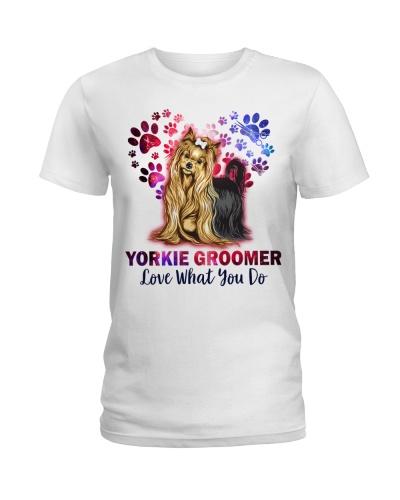 Yorkie Groomer Love What You Do