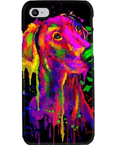 Doberman Water Color Phone Case