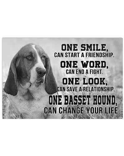 Basset Hound One Smile