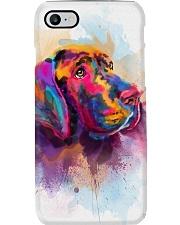 Great Dane Face Art Spotted Color Phone Case thumbnail
