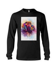 Great Dane Face Art Spotted Color Long Sleeve Tee thumbnail