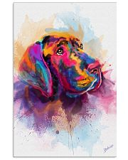 Great Dane Face Art Spotted Color 11x17 Poster front
