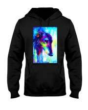 Greyhound Water Color Art Splash V123 Hooded Sweatshirt thumbnail