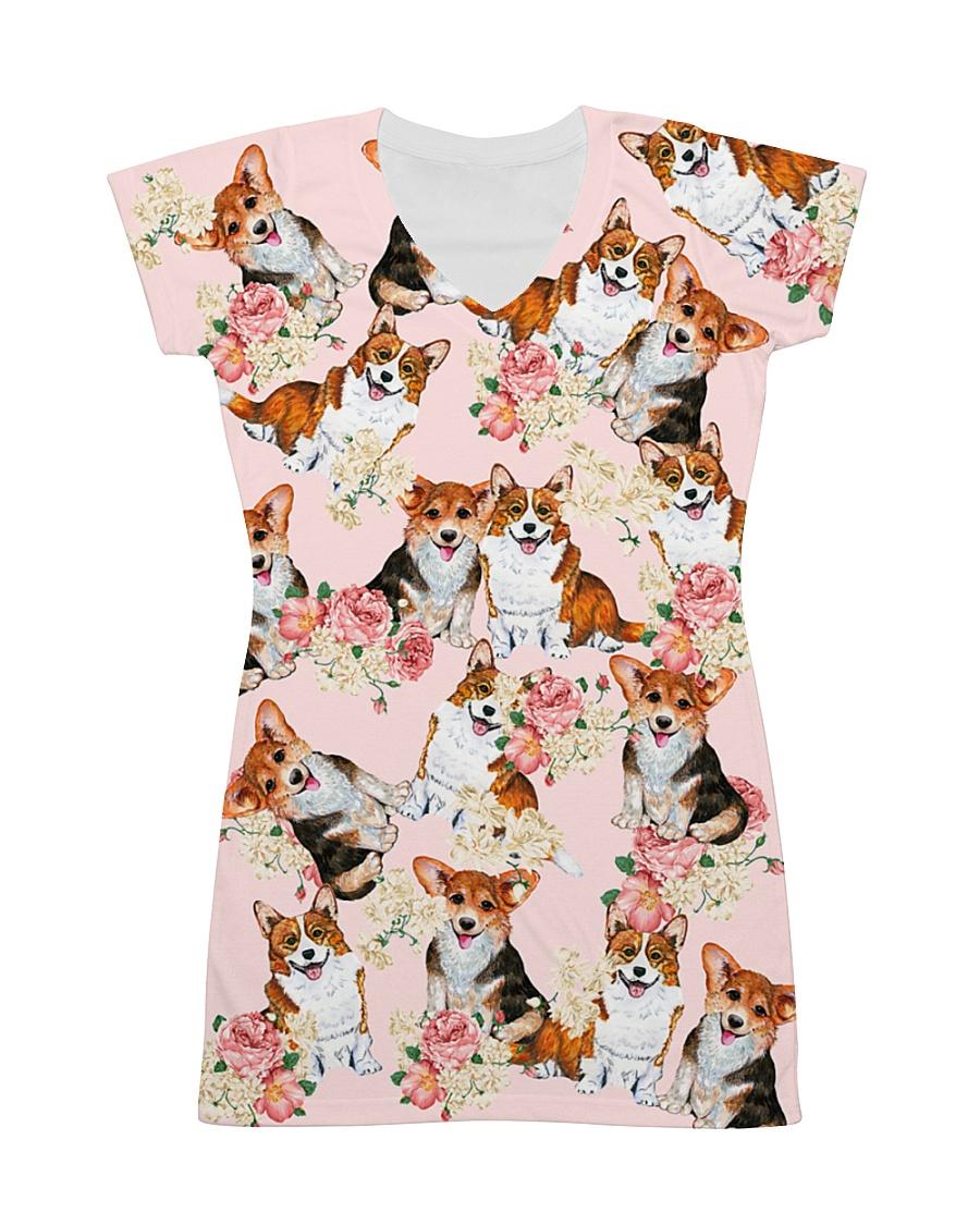 Corgi Cute All-over Dress