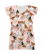 Corgi Cute All-over Dress front