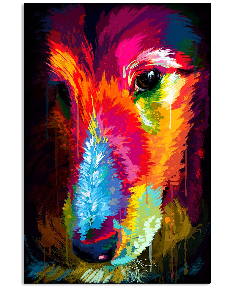 Sheltie Water Color 16x24 Poster