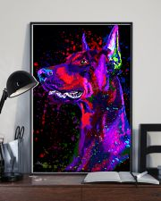 Doberman Water Color  11x17 Poster lifestyle-poster-2