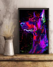 Doberman Water Color  11x17 Poster lifestyle-poster-3