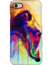 Greyhound Water Color Phone Case tile