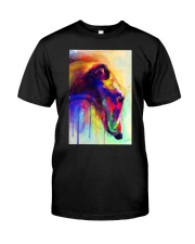 Greyhound Water Color Classic T-Shirt thumbnail