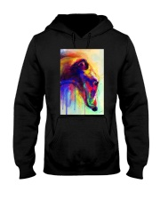 Greyhound Water Color Hooded Sweatshirt thumbnail