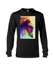 Greyhound Water Color Long Sleeve Tee thumbnail
