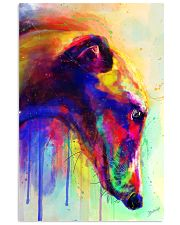 Greyhound Water Color 16x24 Poster front