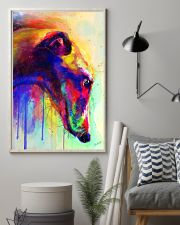 Greyhound Water Color 16x24 Poster lifestyle-poster-1