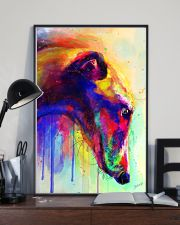 Greyhound Water Color 16x24 Poster lifestyle-poster-2