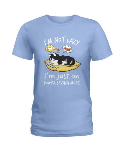 I Am Not Lazy Husky