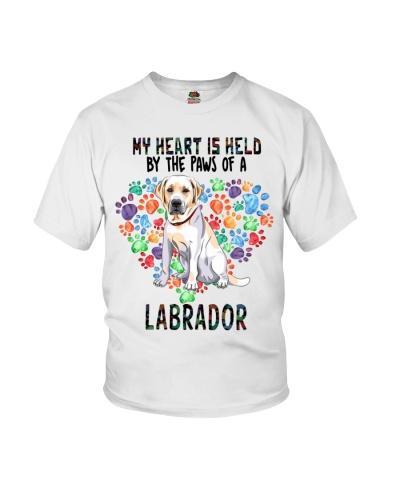 Labrador Paw Heart