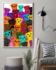 Pug multi 24x36 Poster lifestyle-poster-1