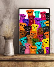 Pug multi 24x36 Poster lifestyle-poster-3